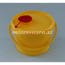 Емкость-контейнер для сбора острого инструментария, Б 3 л