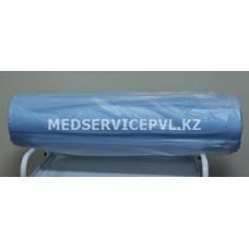 Простыня (салфетка-рулон) 0,7*0,8, пл.25, голубая,250 шт.перфорированная