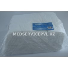 Полотенце большое White line 45*90 белый спанлейс №50